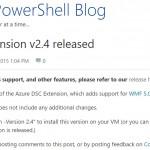 Azure DSC 拡張機能 リリース履歴